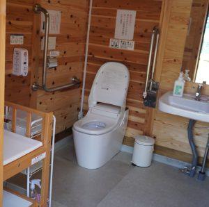 綺麗な水洗トイレ